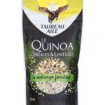 Taureau Ailé Le Quinoa Ceéeales & Lentilles