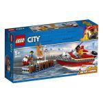 Lego City 60213 - L'incendie sur le quai
