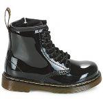 Dr. Martens Brooklee, Boots mixte bébé - Noir (Black Patent Lamper) - 27 EU
