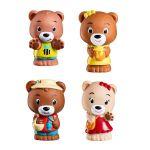 Vulli 4 figurines de la famille Browny