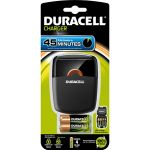 Duracell Chargeur CEF27 + 2 piles AA + 2 piles AAA