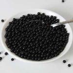 FunCakes Perles de sucre - noir - 80g