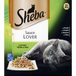 Sheba Barquettes Sauce Lover - 12 x 85 g