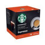 Nestlé Espresso Colombia Starbucks - La boîte de 12 capsules