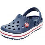 Crocs Crocband Clog Kids, Sabots Mixte Enfant, Bleu (Navy/Red), 33-34 EU