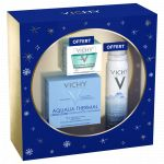 Vichy Aqualia Therma peau sèche - Crème Légère Aqualia + Eau Thermale Vichy + Masque Minéral Désaltérant