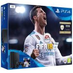 Sony Pack PS4 slim 1To noire + FIFA 18