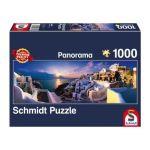 Schmidt Coucher de soleil à Santorin - Puzzle 1000 pièces