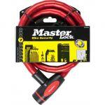 Câble antivol à clé Masterlock - Longueur 1 m