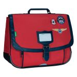 Tann's Cartable Tanns Les Fantaisies Tom 38cm 2 Compartiments Rouge