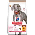Hill's Lot Science Plan pour chien - Adult 1-5 No Grain Large poulet (2 x 14 kg)