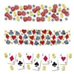 Amscan Confettis de table casino (34g)