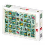 Dtoys Puzzle Pattern Aquatic Animals