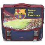 FC Barcelone 41 cm Bleu 2 compartiments - Cartable à roulettes