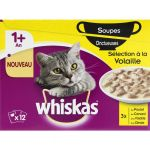Whiskas Sauce onctueuse de volaille - Pour chat - 12x85g