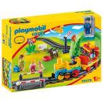 Playmobil 70179 - Train Avec Passagers Et Circuit