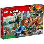 Lego Juniors Jurassic World 10758 - Lévasion du tyrannosaure