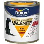 Dulux Valentine Peinture Laque Valénite Brillant Jaune Lumière 0,5 L