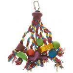 Happy Pet Jouet multicolore pour perroquet