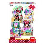 Dino 4 Puzzles - Minnie et Daisy