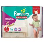 Pampers Premium Active Fit Pants taille 4 (8-14 kg) - 32 couches-culottes