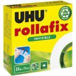 UHU Rouleau adhésif invisible Rollafix 33 m x 19 mm