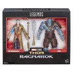 Hasbro Marvel Legends Thor: Ragnarok - Coffret de 2 figurines collection 15 cm Grandmaster et Korg