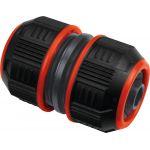 Cap Vert Raccord réparateur Lock de tuyau d'arrosage - Bi-matière - Diamètre 15 mm