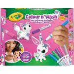 Crayola Coffret Colour'n'Wash - Missy et Peggy Sue