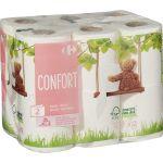 Carrefour Papier Toilette Confort Doux - Les 12 Rouleaux