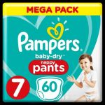 Pampers Baby-Dry Pants T7, x60
