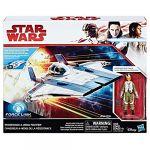 Hasbro Star Wars Episode VIII - Véhicule A-Wing Fighter + Figurine