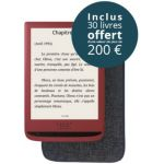 Tea Pack Touch Lux 4 rouge + housse +10Epub