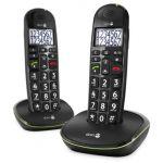 Doro PhoneEasy 110 Duo - Téléphone sans fil 2 combinés