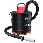 Niklas Aspirateur de cendres 1000W Cuve18 L FIltre Hepa inclus Cheminées Poëles Barbecues Poussières