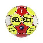 Select 3862054670 Ballon de Handball Femme, Jaune/Rouge/Blanc, 2