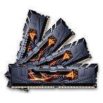G.Skill F4-2800C16Q-16GRK - Barrettes mémoire Ripjaws 4 Series 16 Go (4 x 4 Go) DDR4 2800 MHz CL16 DIMM