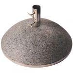 Esschert design Pied de parasol granit 43,9kg - Gris