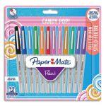 Paper Mate 2027097 Flair Lot de 12 Stylos-feutres pointe ultra-fine 0,33 mm Couleurs Candy Pop