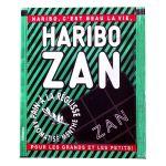 Haribo Zan confiserie a la reglisse aromatise menthe 12g