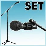 Chord Microphone micro pied sac de transport DJ concert sono
