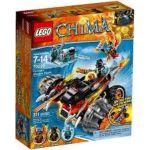 Lego 70222 - Legends of Chima : Le bulldozer Panthère