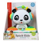 Infantino Spin & Slide DJ Panda MULTICOLORE