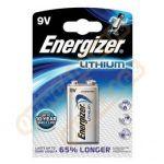 Energizer Lithium 9V 6R61