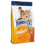 Happy cat Indoor Adult - Croquettes saumon de l'Atlantique pour chat - 1,4 kg