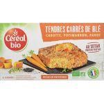 Céréal bio Galettes De Blé Potimarron Carotte Pavot - Les 2 Galettes De 100g