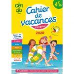 Cahier de vacances 2020 CE1 à CE2 aux éditions Magnard