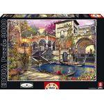 Educa Romance à Venise - Puzzle classique 3000 pièces