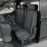 DBS Housse siège Auto / Utilitaire - Sur Mesure pour VOLKSWAGEN Vito (Dès 05/2014) [sans tablette]