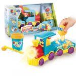 Canal Toys DOUGH'N GO Train et personnage en pâte à modeler - Il s'anime au contact de la pâte à modeler !